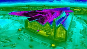 drone thermal roof inspection-survey-Ariel inspection